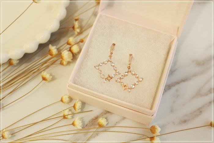 Mrs Yue 夾式耳環-垂墜式耳環-不過敏耳環-氣質施華洛世奇鑽耳環 (87)