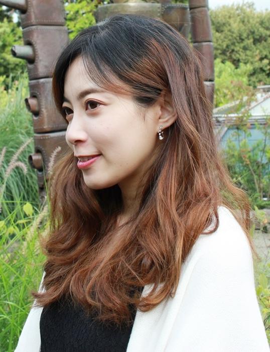 Mrs Yue 夾式耳環-垂墜式耳環-不過敏耳環-氣質施華洛世奇鑽耳環 (10)