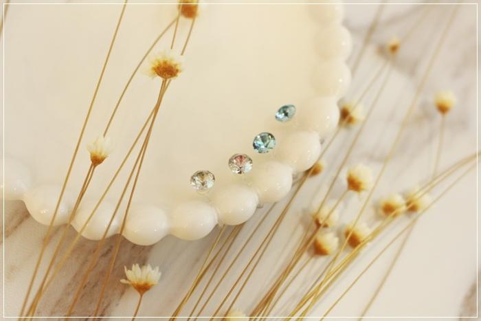 Mrs Yue 夾式耳環-垂墜式耳環-不過敏耳環-氣質施華洛世奇鑽耳環 (91)