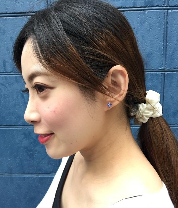 Mrs Yue 夾式耳環-垂墜式耳環-不過敏耳環-氣質施華洛世奇鑽耳環 (37)