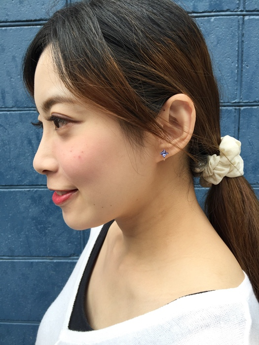 Mrs Yue 夾式耳環-垂墜式耳環-不過敏耳環-氣質施華洛世奇鑽耳環 (38)