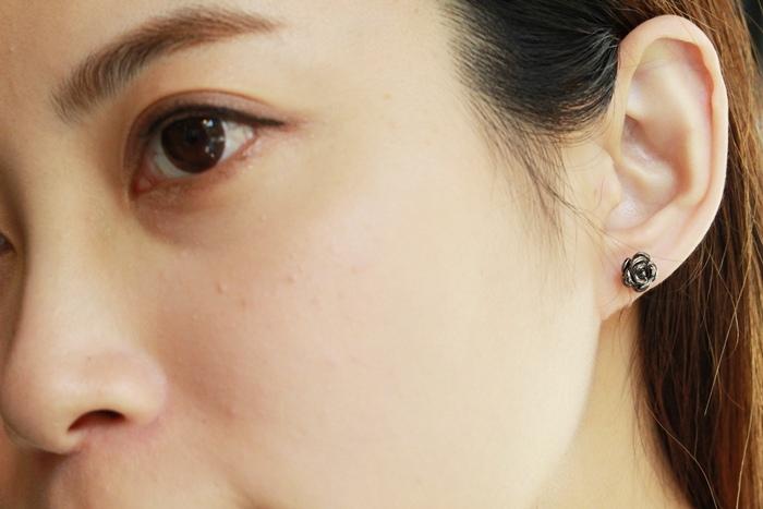 Mrs Yue 夾式耳環-垂墜式耳環-不過敏耳環-氣質施華洛世奇鑽耳環 (64)
