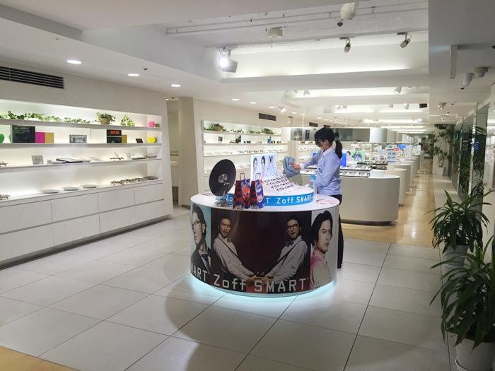 日本Zoff配眼鏡去-東京原宿店-Disney迪士尼米奇米妮聯名款-超可愛迪士尼眼鏡布 (5)