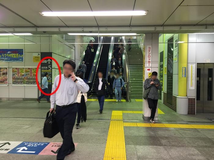 JR山手線-秋葉原站內置物櫃可不出站-寄放行李locker-日本置物櫃-suica可用-大行李箱29吋 (6)
