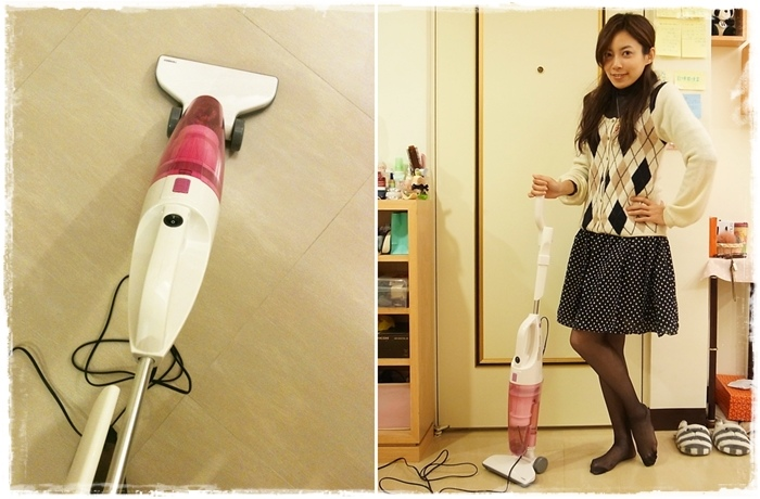小套房的千元有找平價好用粉紅色吸塵器-twinbird TC-5121TW 兩用式吸塵器 (61)