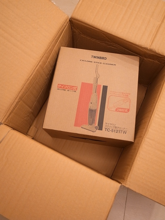 小套房的千元有找平價好用粉紅色吸塵器-twinbird TC-5121TW 兩用式吸塵器 (4)
