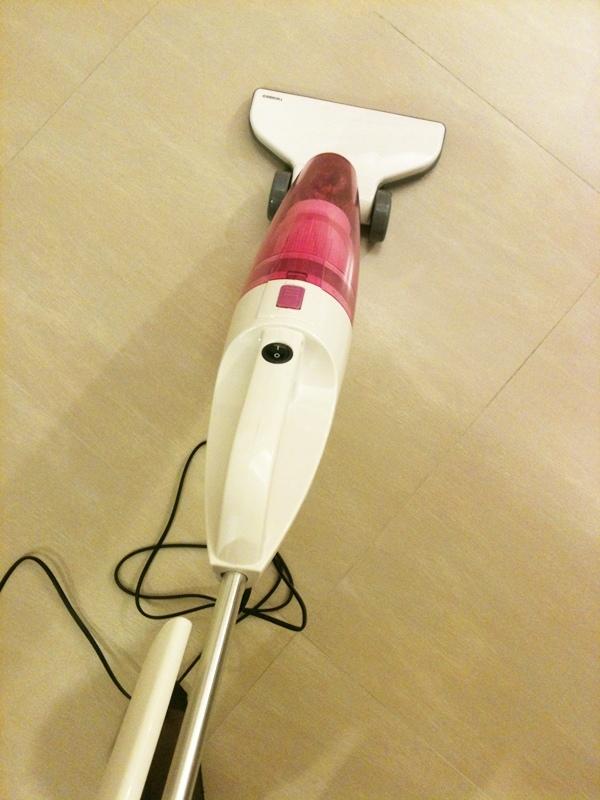 小套房的千元有找平價好用粉紅色吸塵器-twinbird TC-5121TW 兩用式吸塵器 (2)