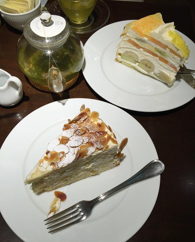 日本東京新宿LUMINE EST百貨B2F HARBS水果千層蛋糕mille crepe-卡士達栗子蛋糕Custard Marron Cake-超美味義大利麵-男生也無法抗拒 (149)