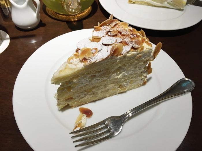 日本東京新宿LUMINE EST百貨B2F HARBS水果千層蛋糕mille crepe-卡士達栗子蛋糕Custard Marron Cake-超美味義大利麵-男生也無法抗拒 (148)
