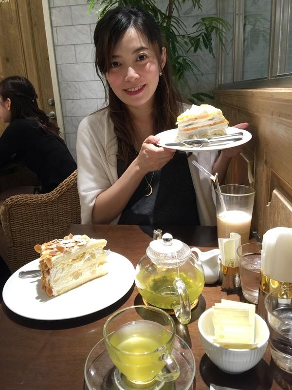 日本東京新宿LUMINE EST百貨B2F HARBS水果千層蛋糕mille crepe-卡士達栗子蛋糕Custard Marron Cake-超美味義大利麵-男生也無法抗拒 (122)