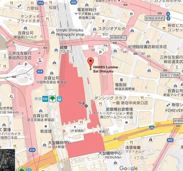 日本東京新宿LUMINE EST百貨B2F HARBS水果千層蛋糕mille crepe-卡士達栗子蛋糕Custard Marron Cake-超美味義大利麵-男生也無法抗拒 (16111)