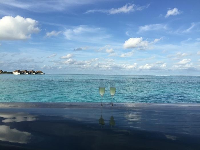 Honeymoon Maldives 馬爾地夫蜜月行-Maalifushi by COMO 第一天-賓至如歸的天堂夢幻島嶼-水上屋大驚豔-超美味晚餐 (20)