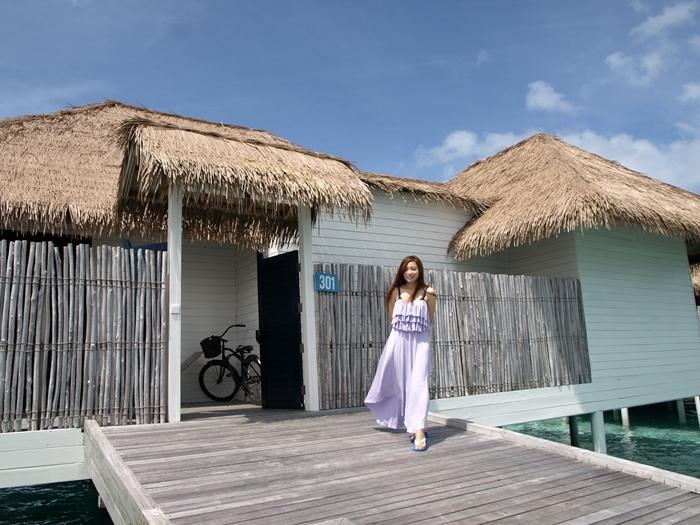 Honeymoon Maldives 馬爾地夫蜜月行-Maalifushi by COMO 第一天-賓至如歸的天堂夢幻島嶼-水上屋大驚豔-超美味晚餐 (10001)