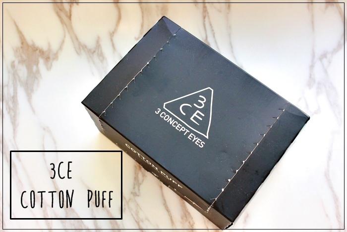 韓國3CE濕敷用多功能用途化妝棉 cotton puff-日本3coins買的華麗化妝棉收納盒 (1)