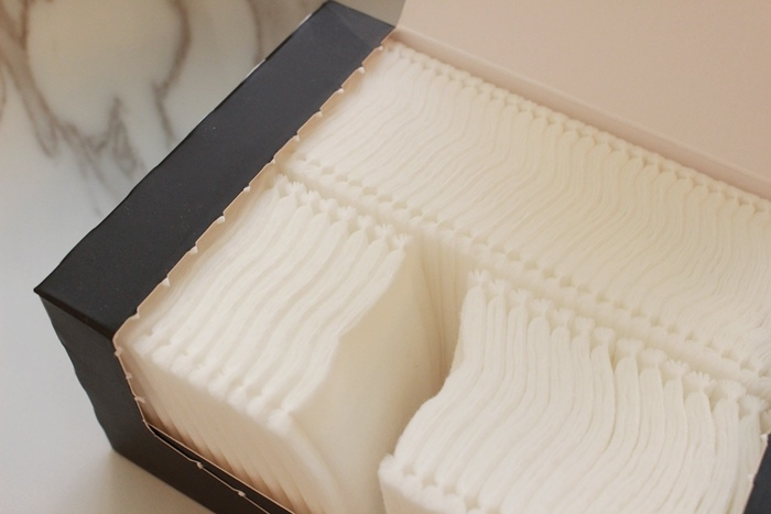 韓國3CE濕敷用多功能用途化妝棉 cotton puff-日本3coins買的華麗化妝棉收納盒 (6)