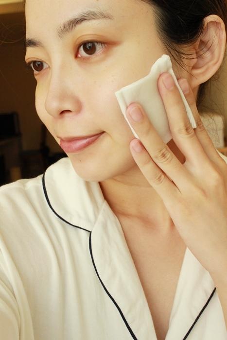 韓國3CE濕敷用多功能用途化妝棉 cotton puff-日本3coins買的華麗化妝棉收納盒 (10)