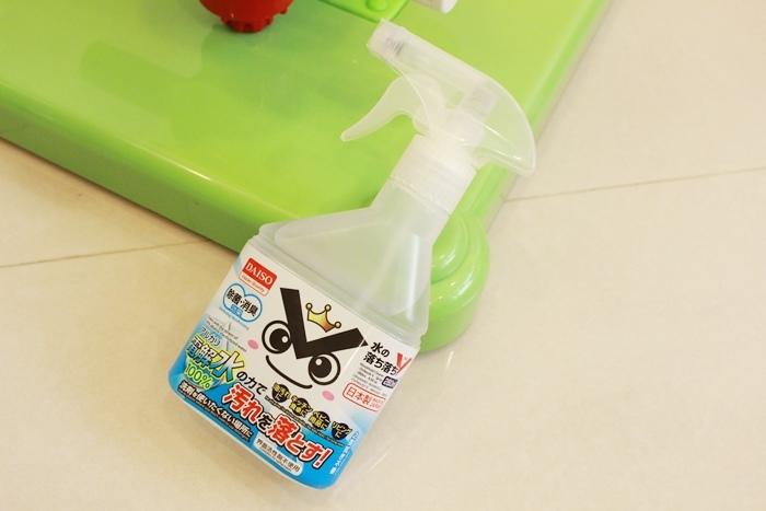 Daiso大創好物-Ochi V電解水噴霧噴瓶-去汙除菌噴劑-日本製 (9)