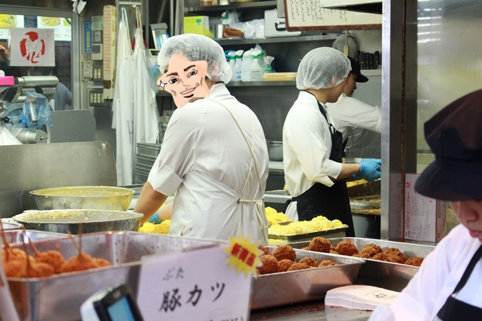日本東京自助旅行-吉祥寺必吃-SATOU元祖牛肉丸-元祖丸炸牛肉丸-steak house (919)