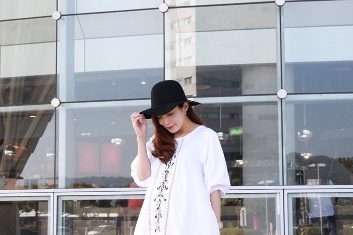 孕婦穿搭-孕婦裝穿搭-淘寶孕婦裝-Uniqlo黑帽-過膝長靴 (31)