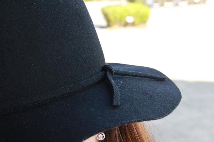 孕婦穿搭-孕婦裝穿搭-淘寶孕婦裝-Uniqlo黑帽-過膝長靴 (1)