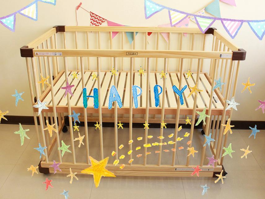 färska-日本farska嬰兒床-Bed side bed-親子共寢多功能嬰兒床-無印良品風日系風嬰兒床原木色系-透氣好眠可攜式床墊組-COMPACT BED (59)