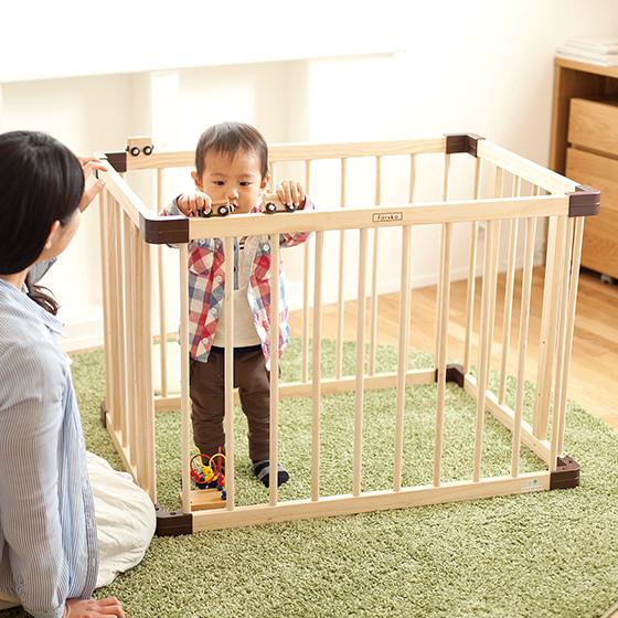 farska-日本farska嬰兒床-Bed side bed-親子共寢多功能嬰兒床-無印良品風日系風嬰兒床原木色系-透氣好眠可攜式床墊組-COMPACT BED (591111)