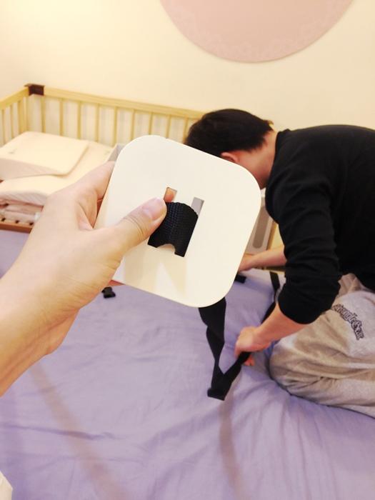 日本farska嬰兒床-Bed side bed-親子共寢多功能嬰兒床-無印良品風日系風嬰兒床原木色系-透氣好眠可攜式床墊組-COMPACT BED (598)