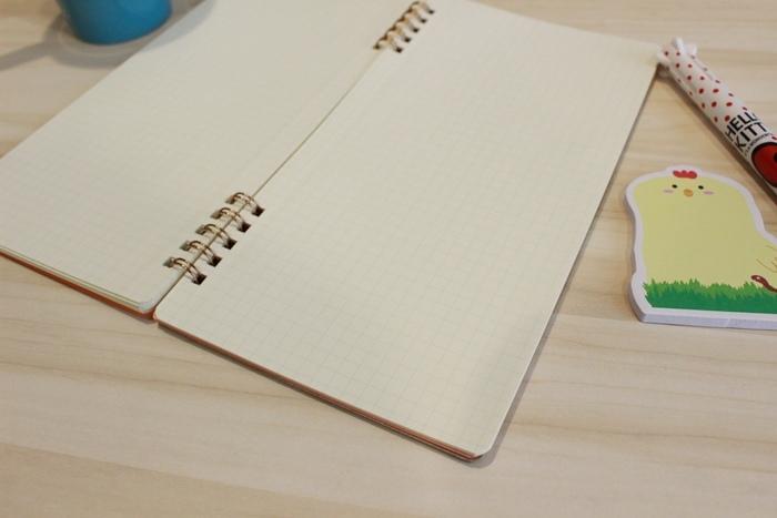誠品重點品牌推薦PLUS Ca.Crea筆記本-台灣普樂士-日本PLUS A4 三分之一尺寸 (7)
