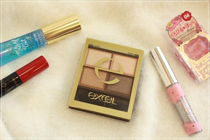 EXCEL 四色眼影盤 SR01 媲美Lunasol 日本必買眼影 日本藥妝戰利品 (41)
