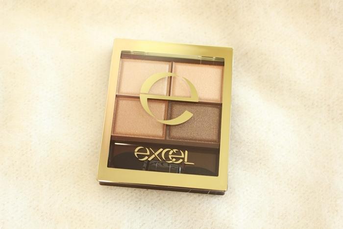 EXCEL 四色眼影盤 SR01 媲美Lunasol 日本必買眼影 日本藥妝戰利品 (36)