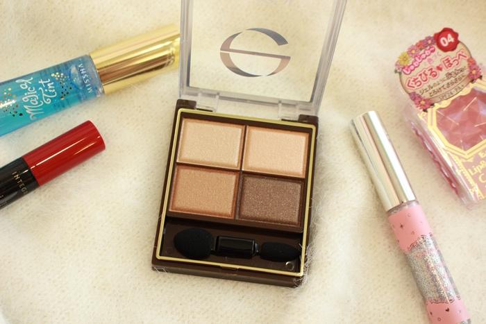 EXCEL 四色眼影盤 SR01 媲美Lunasol 日本必買眼影 日本藥妝戰利品 (40)