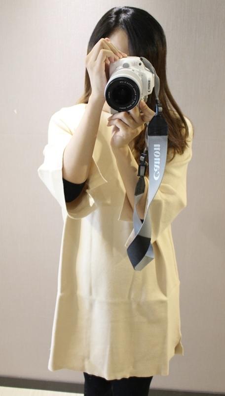 淘寶穿搭-毛衣-淘寶女裝GG House郭郭定制-毛衣裙寬鬆毛衣荷葉袖毛衣外套 (13)