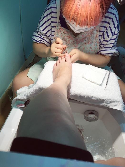 孕婦日記-孕婦的產前待辦事項-足部保養磨腳皮修指甲剪指甲腳趾甲-TRIND保養-midori nail彌朵莉貓窩美甲室 (11)