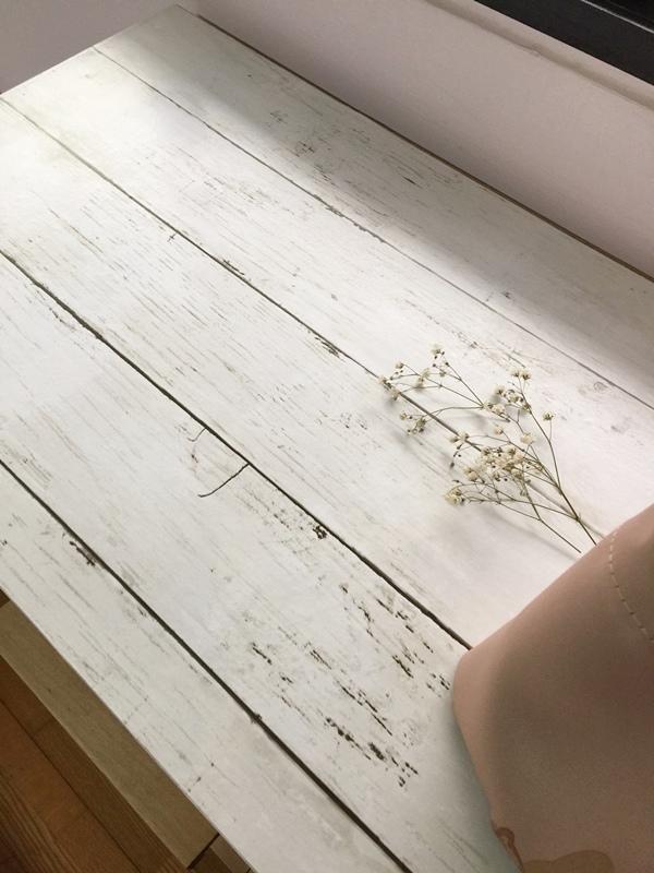 大創木紋貼皮-木板牆面裝飾貼-改造IKEA醜醜的衣櫃 (6)