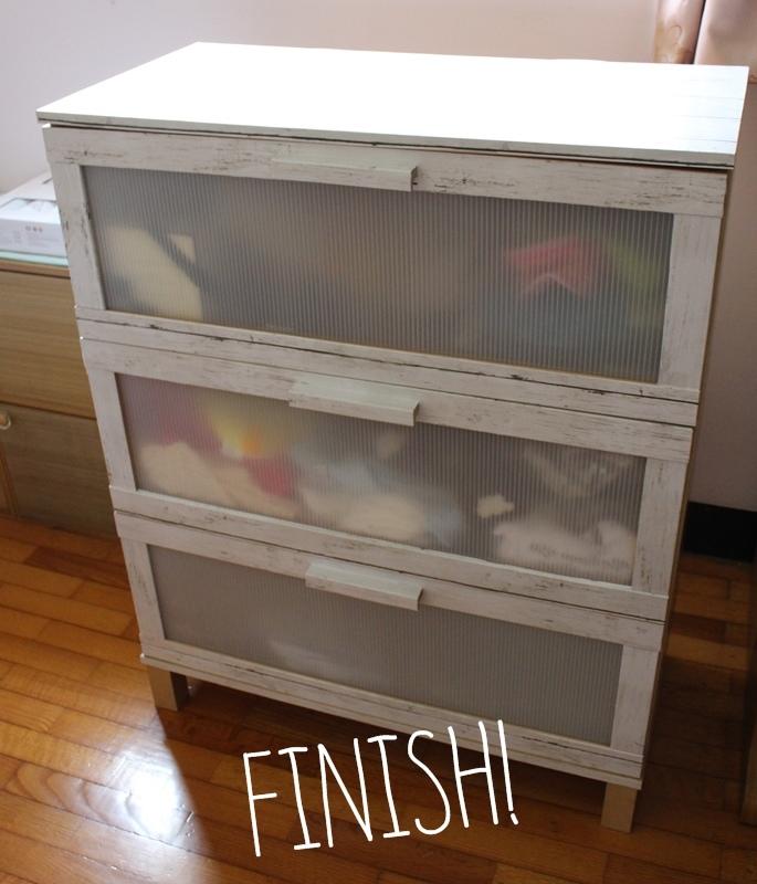 大創木紋貼皮-木板牆面裝飾貼REMAKE SHEET-改造IKEA醜醜衣櫃 (12)