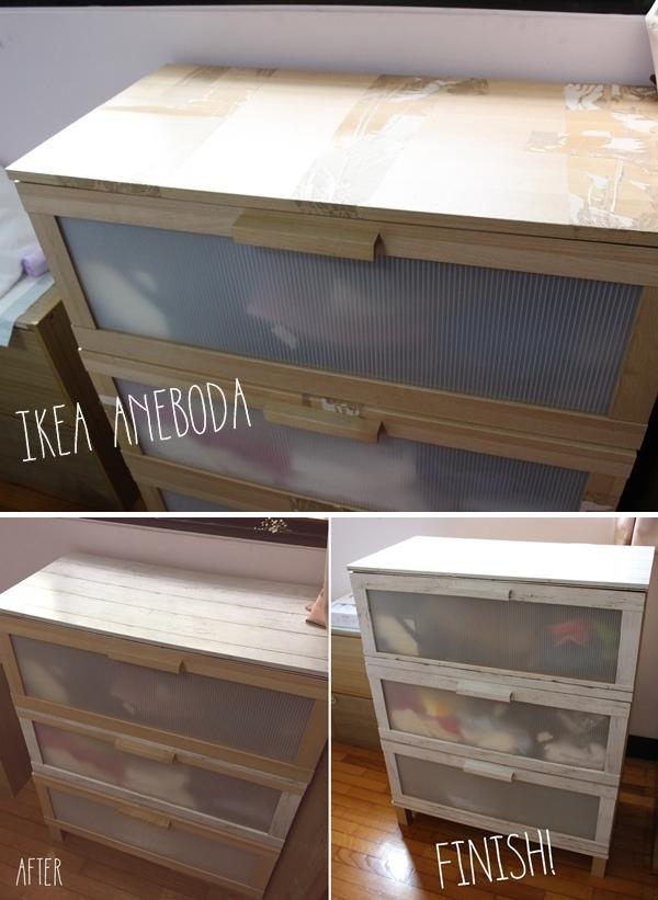 大創木紋貼皮-木板牆面裝飾貼REMAKE SHEET-改造IKEA醜醜衣櫃 (101)