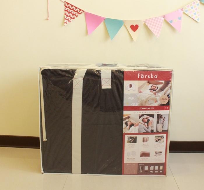 日本farska嬰兒床墊-compact bed series 透氣好眠可攜式床墊組 (123)