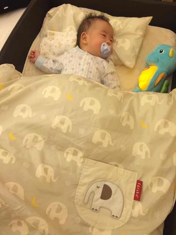 日本farska嬰兒床墊-compact bed series 透氣好眠可攜式床墊組 (119)
