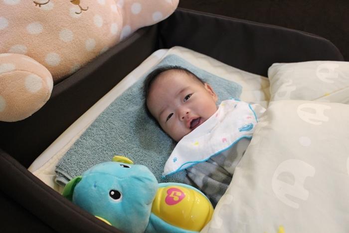 日本farska嬰兒床墊-compact bed series 透氣好眠可攜式床墊組 (70)