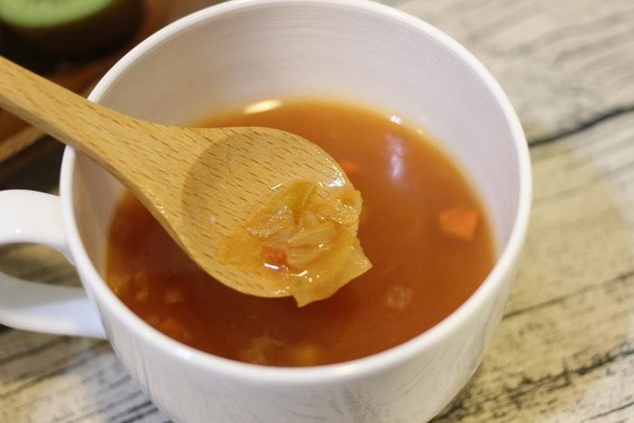 MUJI無印良品-沖泡湯塊-義式蔬菜湯-夜晚即沖即飲的宵夜湯品-羅宋湯 (12)