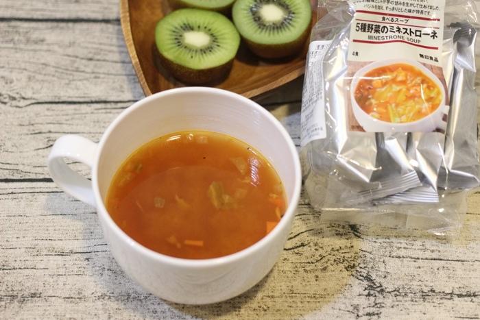 MUJI無印良品-沖泡湯塊-義式蔬菜湯-夜晚即沖即飲的宵夜湯品-羅宋湯 (16)
