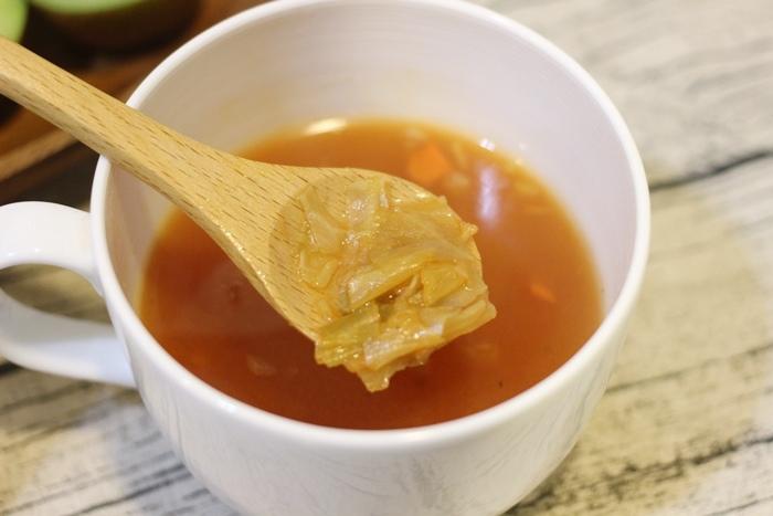 MUJI無印良品-沖泡湯塊-義式蔬菜湯-夜晚即沖即飲的宵夜湯品-羅宋湯 (14)