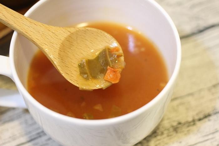 MUJI無印良品-沖泡湯塊-義式蔬菜湯-夜晚即沖即飲的宵夜湯品-羅宋湯 (13)