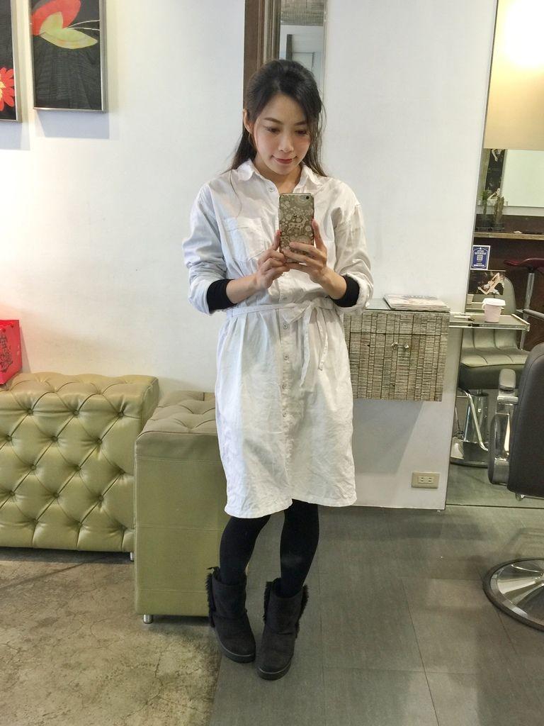 PLUUS 南西店-設計師NICK-媽媽的簡單清爽內彎直髮-外捲瀏海 (5)