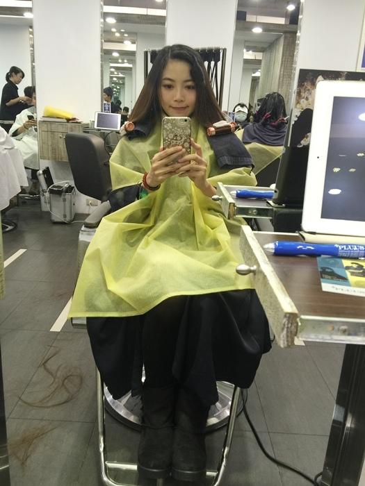 PLUUS 南西店-設計師NICK-媽媽的簡單清爽內彎直髮-外捲瀏海 (9)