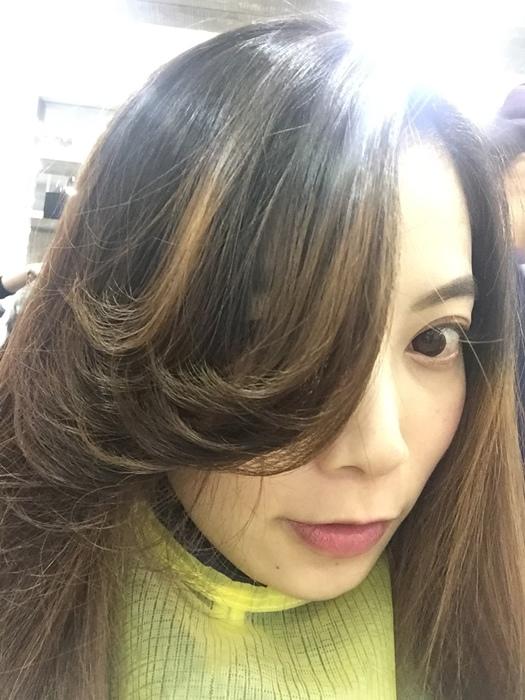 PLUUS 南西店-設計師NICK-媽媽的簡單清爽內彎直髮-外捲瀏海 (13)