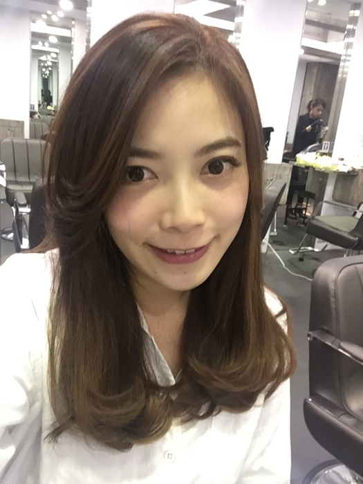 PLUUS 南西店-設計師NICK-媽媽的簡單清爽內彎直髮-外捲瀏海 (23)
