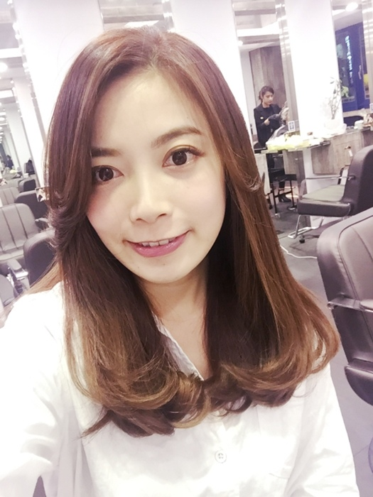 PLUUS 南西店-設計師NICK-媽媽的簡單清爽內彎直髮-外捲瀏海 (36)