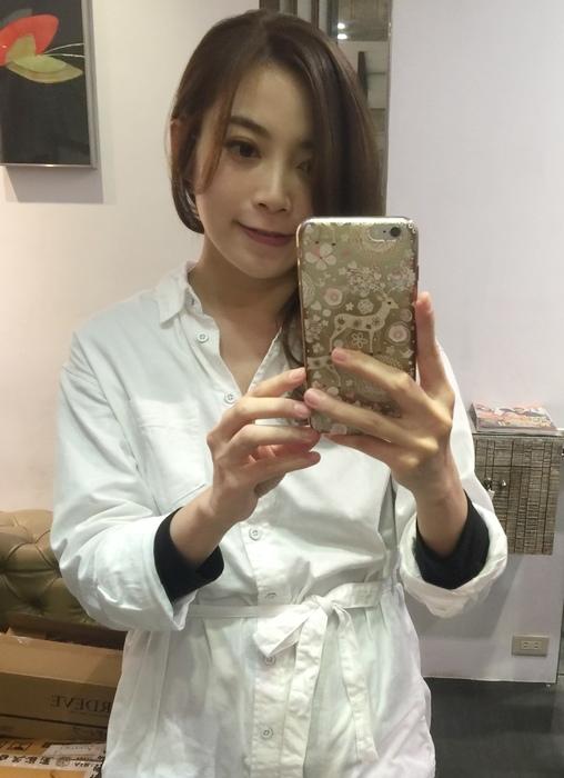 PLUUS 南西店-設計師NICK-媽媽的簡單清爽內彎直髮-外捲瀏海 (25)