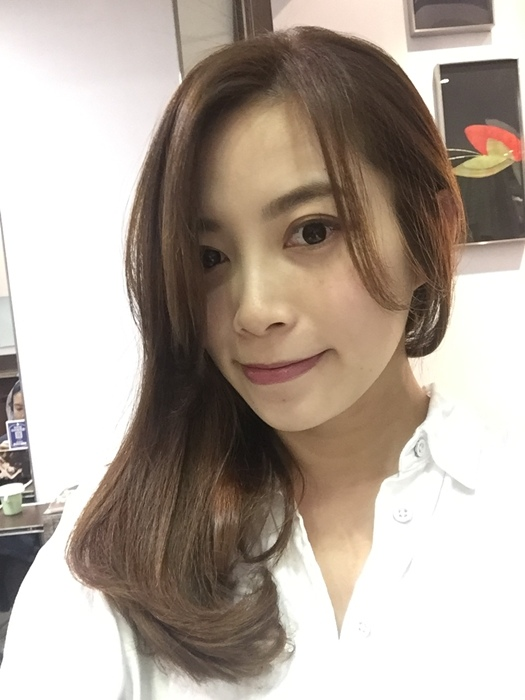 PLUUS 南西店-設計師NICK-媽媽的簡單清爽內彎直髮-外捲瀏海 (28)
